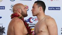 Weigh-in parade pumps up Joseph Parker for rumble in paradise with Jason Bergman