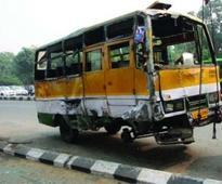 1 dead, 13 hurt as speeding minibus turns turtle