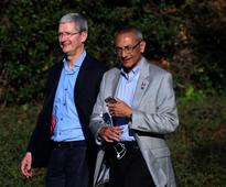 Hillary Clinton's campaign considered Apple CEO Tim Cook for vice president