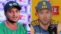 Bangladesh v/s South Africa: Shakib Al Hasan, Ab De Villiers recalled for ODI series