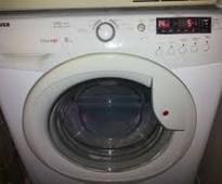 Twins climb into washing machine, dies, as Mom steps out of house briefly