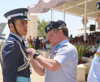 King attends air force pilots graduation