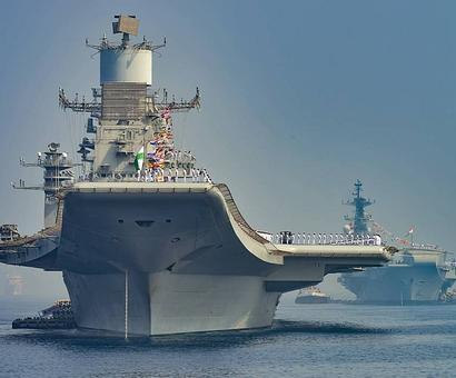 INS Vishal, Vikrant's successor, will have serious US tech