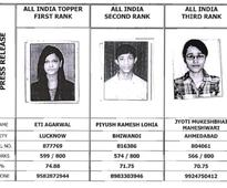 Toppers of CA Final Nov 16