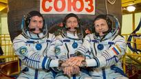 ISS welcomes new astronuats...