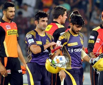 KKR start as favourites against Sunrisers in IPL Eliminator