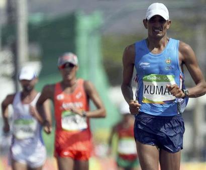 Sandeep Kumar finishes 34th in men's 50km Walk