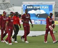 West Indies take T20 series after rain ruins match
