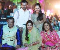 Sania Mirza's sister Anam's sangeet was a smash hit
