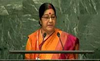 'Abandon this dream': Sushma Swaraj warns Pak about Kashmir