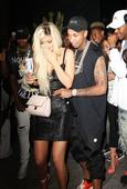 Kylie Jenner gets revenge on Tyga as she's pictured with rumoured boyfriend PartyNextDoor in Ferrari from her ex