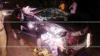 Rash car driving on NH in Vadakara; 9 injured