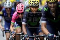 CICLISMO VUELTA A ESPAÑA - Valverde y Quintana encabezan el equipo Movistar