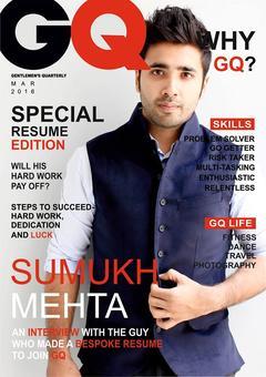 Bengaluru man's magazine-style resume gets him London job