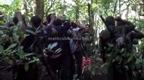 Watch visuals of slain Maoist appealing to his men inside forest