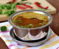 Tomato Rasam with Tamarind