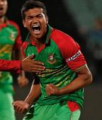 Bangladesh's Arafat, Taskin suspended for illegal bowling actions
