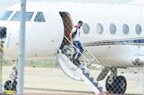Ronaldo's plane crashes