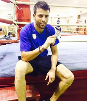 Olympic boxing qualifiers: Sumit enters last 16