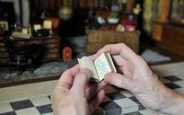 Virginia Woolf's Orlando 'inspired by miniature book in dolls' house library'