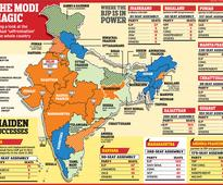 Majority of states now ruled by BJP or its allies