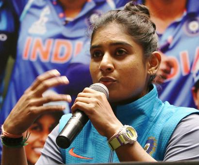 Mithali and India want women's T20 World Cup