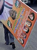 Officials race to meet deadline to remove posters, flex banners