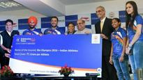 Indian Olympians provided life insurance cover of Rs 1 crore