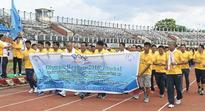 Mary Kom flags off Olympic Day Run