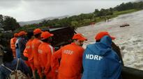 Rescue operation continues for second day on the Mumbai-Goa highway, 22 still missing