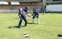 Saha, Mishra hard at work as India hit the nets in Jamaica