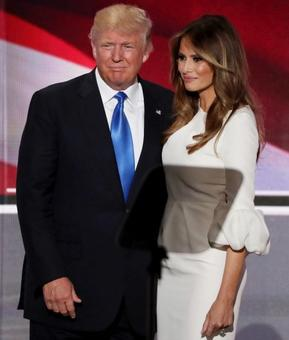 Trump's wife comes to his rescue, says he was egged on to make make lewd remarks