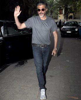 Anil Kapoor watches Blackmail