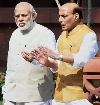 Sukma attack: Rajnath briefs PM; to visit Raipur tomorrow