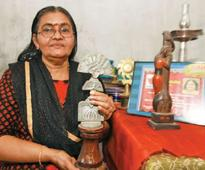 Once a popular theatre artist, Geethamma leads an awful life