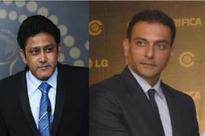 Kumble, Shastri emerge front-runners in India coach race