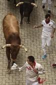 PICS: 9 Injured in Spain's 'bull run'