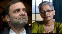 He should furnish proof: Yeddyruppa slams Rahul Gandhi for linking BJP-RSS to Gauri Lankesh's murder