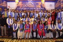 MP Shatrughan Sinha felicitates CSE 2015 batch of Chanakya IAS Academy on UPSC selections