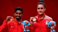 CWG 2018: Manika Batra, G Sathiyan claim mixed doubles bronze, Sharath Kamal finishes third in singles