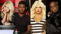 Shakira and Usher not leaving The Voice