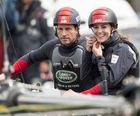 Duchess Kate, Like Us, Needs Help With Helmets