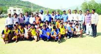District Level Inter Zonal Tournament concludes Chenani Zone wins u-14, 17 kho-kho titles
