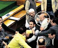 MLA thrashed in J&K assembly over beef