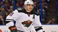 Wild's Parise on track to be full strength by September