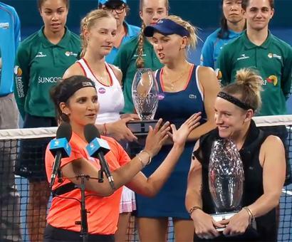 Sania ends 91-week reign as World No 1 despite Brisbane title