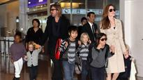 Angelina Jolie moves into a rental house with kids?