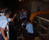 3 sailors die of toxic fumes aboard barge in Mumbai