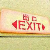 Man held for jumping out from aircraft's emergency exit door