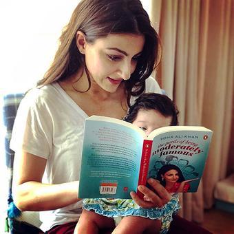 Soha Ali Khan is not afraid to mock herself